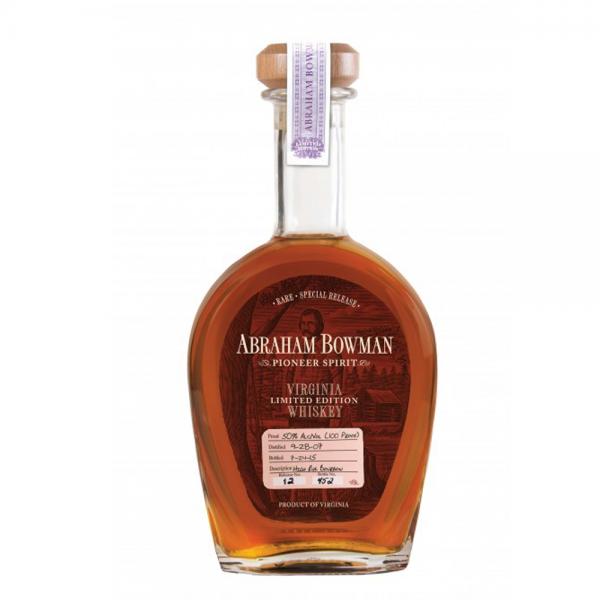 Abraham Bowman Bourbon