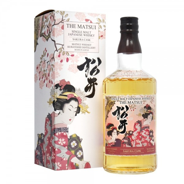 The Matsui Sakura Cask Single Malt