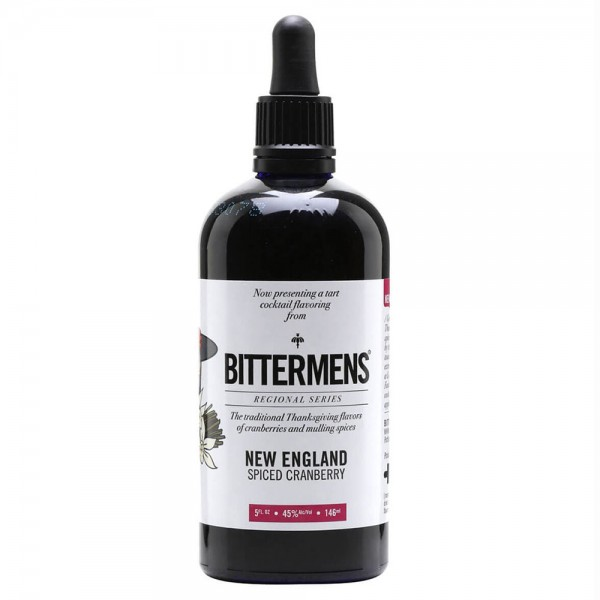 Bittermens New England Spiced Cranberry Bitters 14.6cl