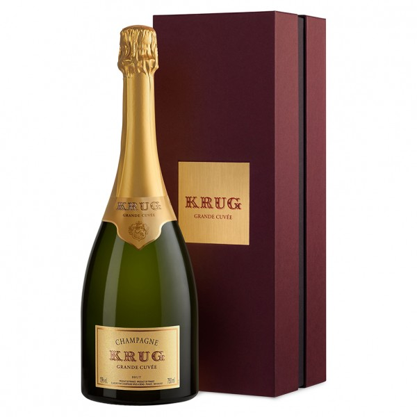 Krug Grand Cuvee (with Gift Box) 75cl