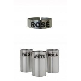 St/steel Large Thimble I.d. Clip - Rose (3151ROSE)