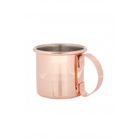 Copper Plated Straight Sided Moscow Mule Mug (3329)