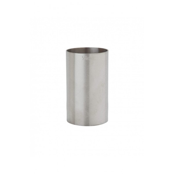 50ml St/steel Thimble Measure Ce