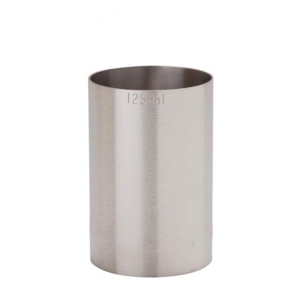 125ml St/steel Thimble Measure Ce