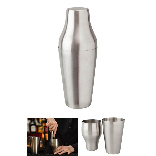 French Shaker Stainless Steel- 600ml