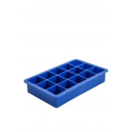 15 Cavity Silicone Ice Cube Mould 1.25 Inch Square (blue) (3349)