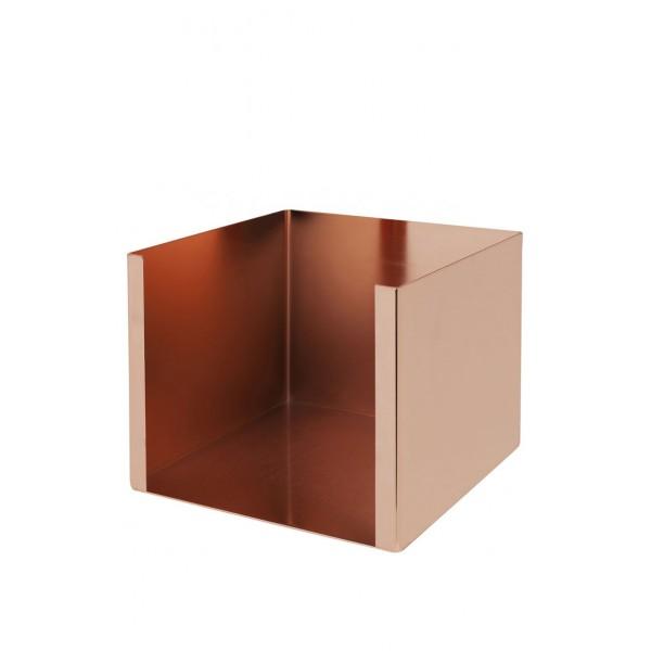 Napkin Holder Copper Plated