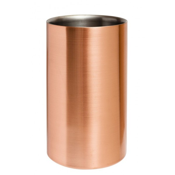 Stainless Steel Wine Cooler Copper Plated (3527)