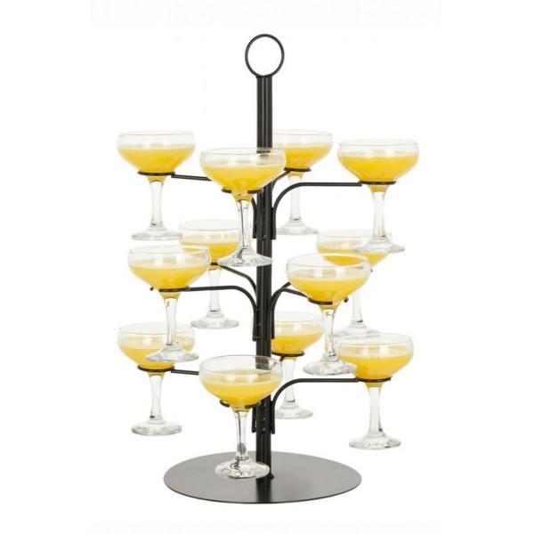 Cocktail Glass Tree (3575)