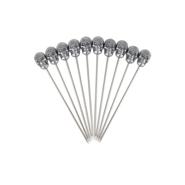 Skull Garnish Pick Pk10