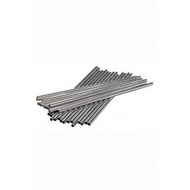 8.5 Inch St/steel Metal Straw Pk25 (3869)