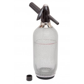 Glass Soda Syphon With Mesh (3940)