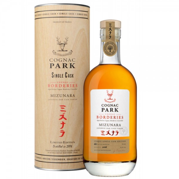 Cognac Park Borderies Mizunara Single Cru 2006
