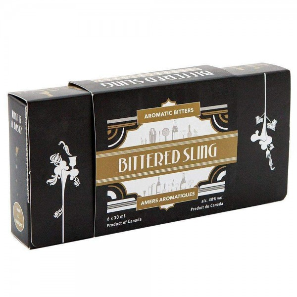 Bittered Sling Aromatic Bitters Gift Set 6 x 3cl