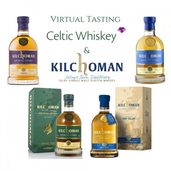 Kilchoman Islay Single Malt Tasting Pack Including Delivery