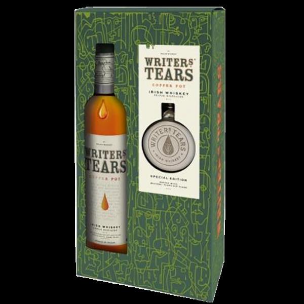 Writers Tears Copper Pot Flask Set