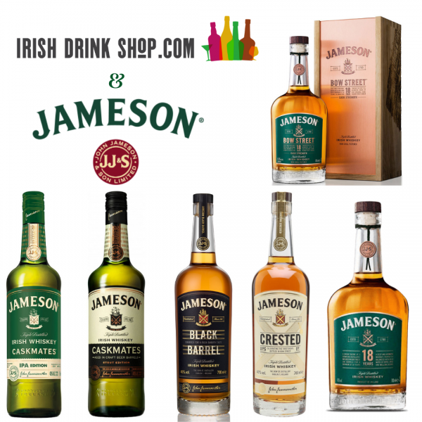 Jameson Tasting Pack Inc Delivery In Eu