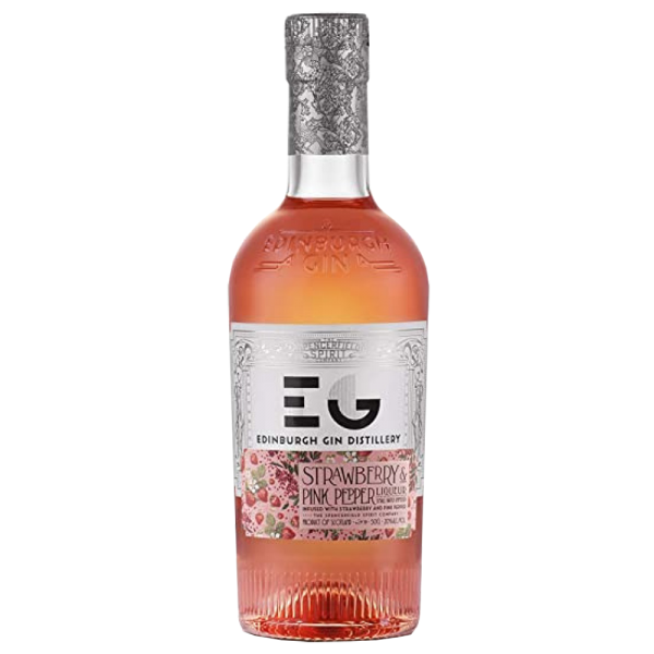 Edinburgh Strawberry and Pink Peppercorn Gin Liqueur