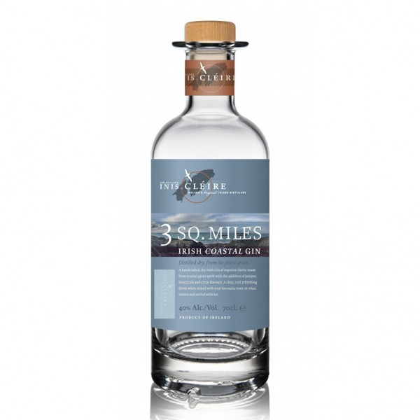 3 Sq. Miles Irish Coastal Gin