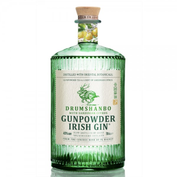 Drumshanbo Gunpowder Sardinian Citrus Irish Gin