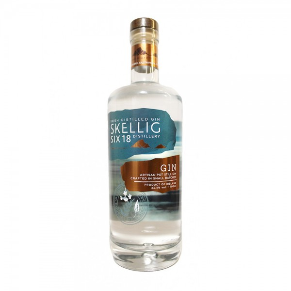 Skellig Six18 Gin