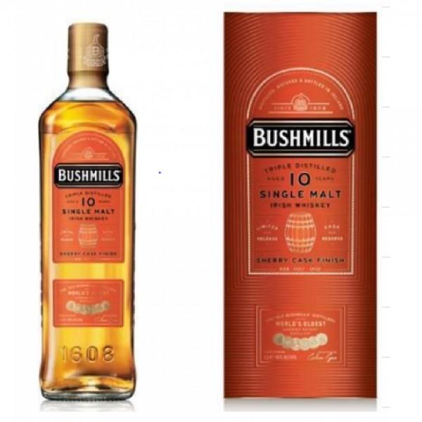 Bushmills 10 Year Old Single Malt Sherry Finish 100cl