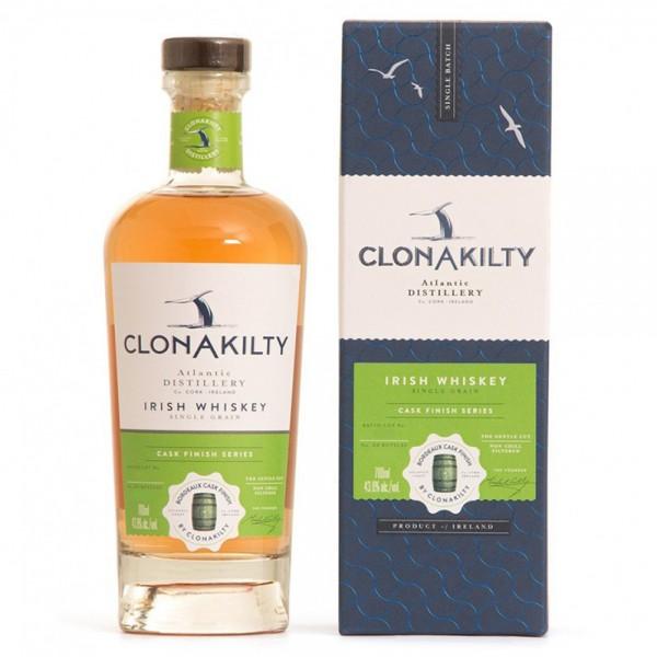 Clonakilty Single Grain Bordeaux Finish