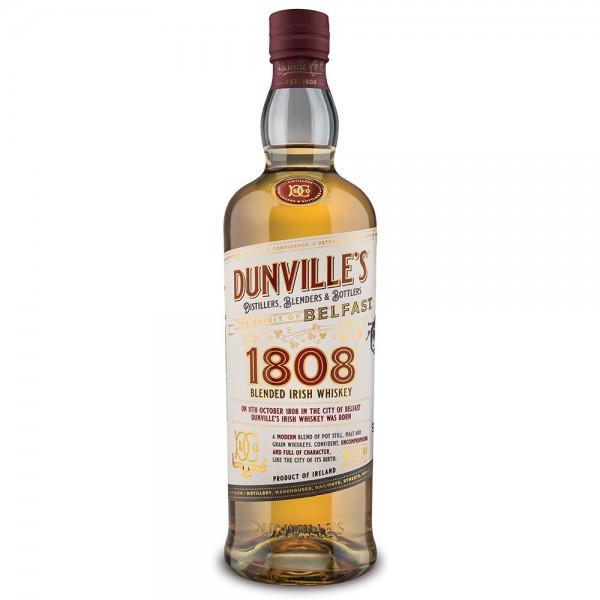 Dunvilles 1808 Irish Whiskey
