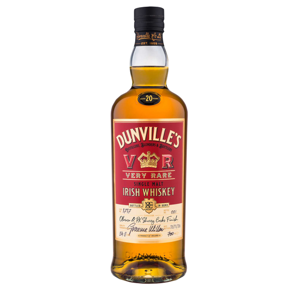 Dunvilles 20 Year Old Oloroso & PX Sherry Casks Finish