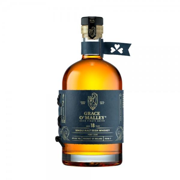 Grace O'Malley 18 Year Old Port Finish Irish Whiskey