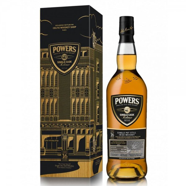 Powers 16 Year Old Single Cask #70142 Celtic Whiskey Exclusive
