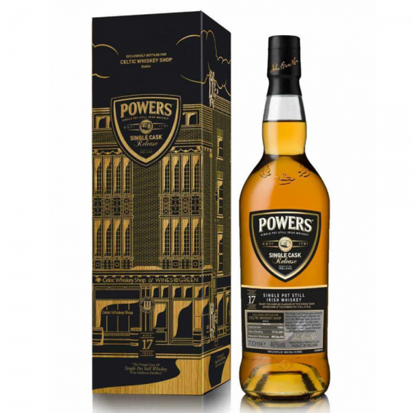 Powers 17 Year Old Single Cask 15856 Single Pot Still