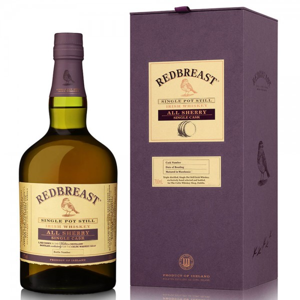 Redbreast 1997 1st Fill Sherry Butt #42884