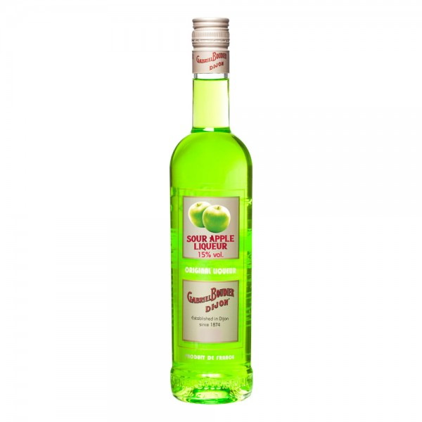 Gabriel Boudier Sour Apple Liqueur