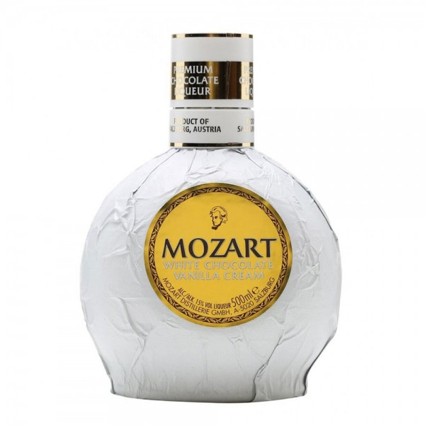 Mozart White Chocolate Vanilla Cream Liqueur