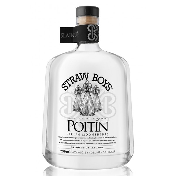 Straw Boys Poitín Irish Moonshine
