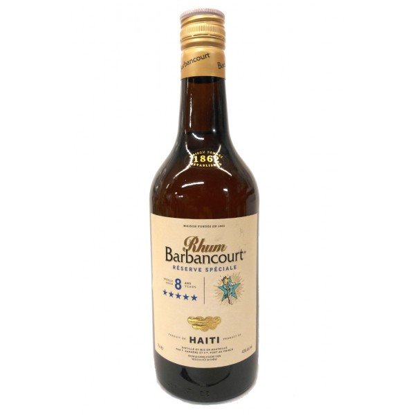 Barbancourt 5 Star 8 Year Old Rum