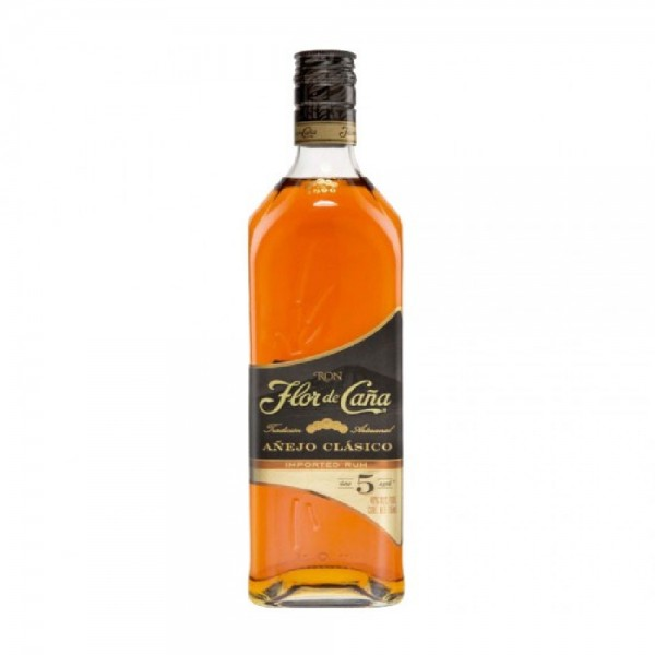 Flor de Cana 5 Year Old Gold