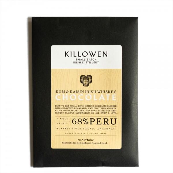 Rum Raisin Irish Chocolate 65g