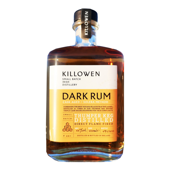 Killowen Small Batch Dark Rum