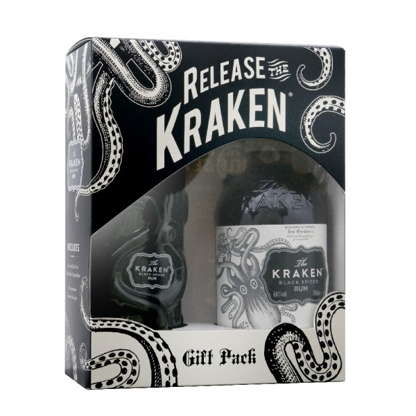 Kraken Spiced Rum Gift Pack