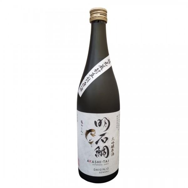 Akashi Sake Daiginjo Genshu Yamadanishiki