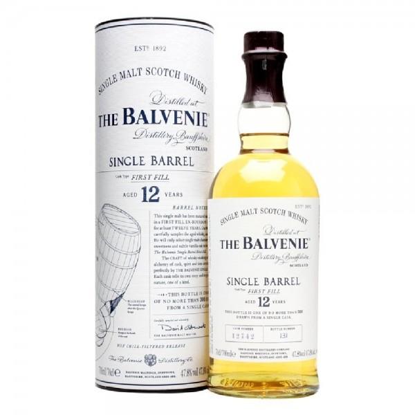 Balvenie First Fill Single Barrel 12 Year Old