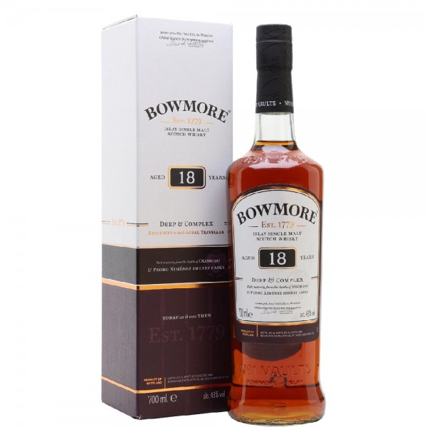 Bowmore 18 Year Old Deep and Complex