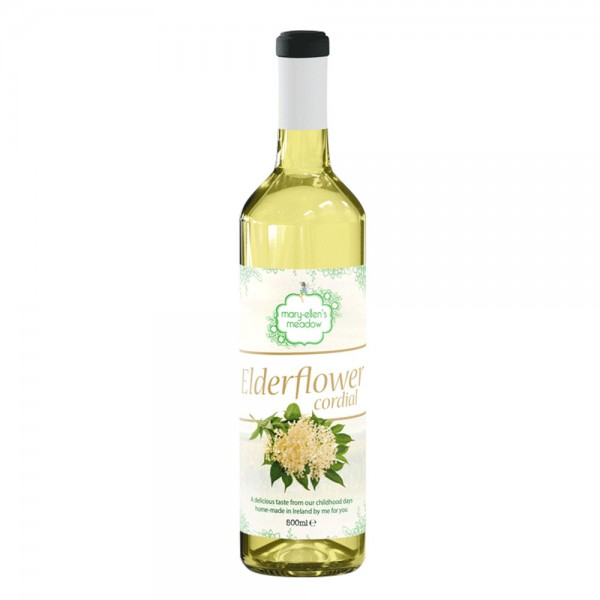 Mary-Ellens Elderflower Cordial