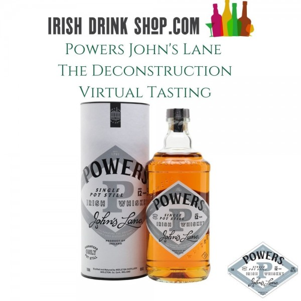 Powers John's Lane Deconstruction Tasting Pack EU Based Customers Including Delivery 11th March