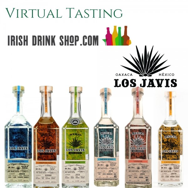 Los Javis Mezcal Tasting Pack 20th May EU Based Customers Including Delivery