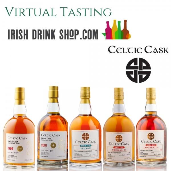 Celtic Cask Tasting Pack Tasting 3rd June Including Delivery EU Based Customers