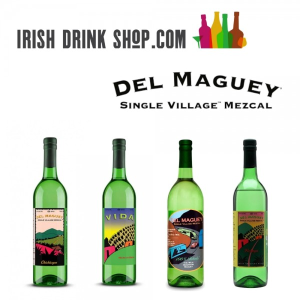 Del Maguey Mezcal Tasting Pack Including Delivery in EU 24th March
