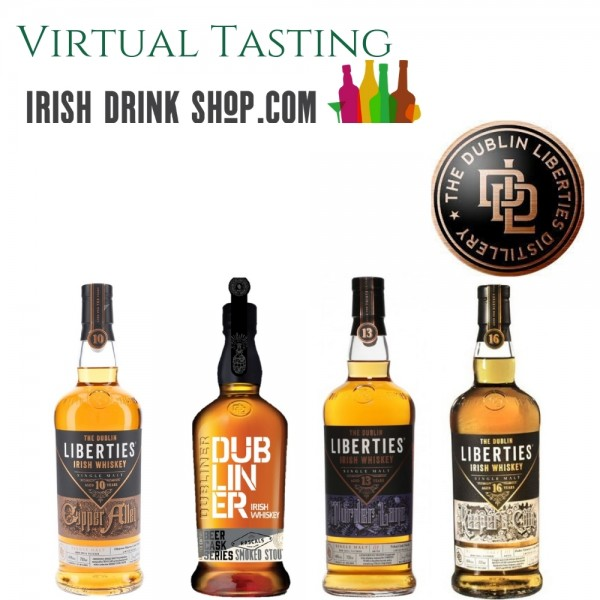 Dublin Liberties Tasting Pack 15th July Including Delivery EU Based Customers